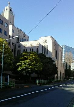 礼拝堂の窓 築地(東京)_e0098739_15502541.jpg