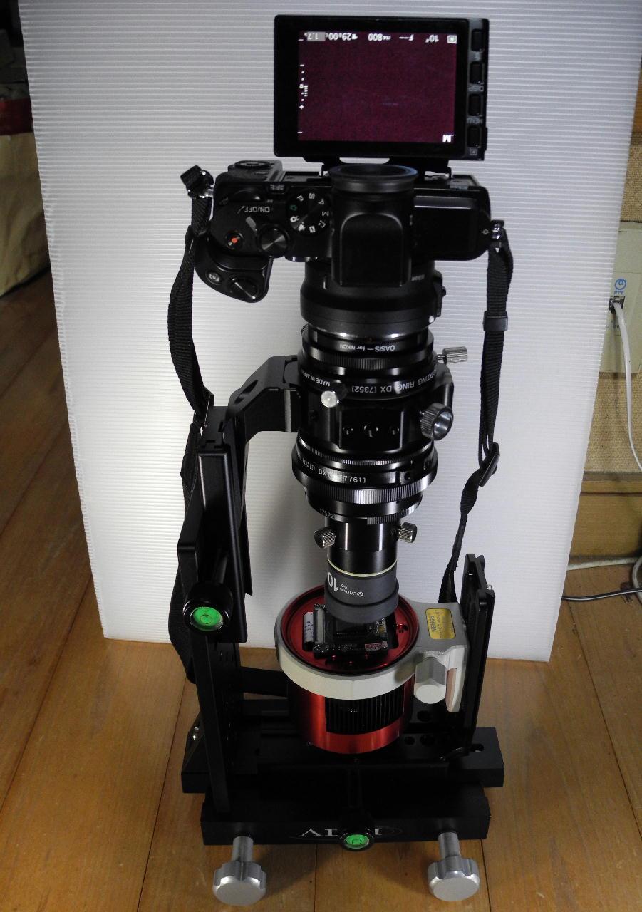 自作顕微鏡で冷却CMOSカメラのベイヤー構造を観察する_f0346040_04465931.jpg