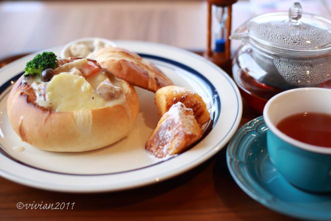 パンデカフェ(Pan De cafe)~あたたか冬メニュー~_e0227942_20513465.jpg