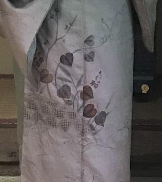 高屋三佐江さんとお仲間・結城に汕頭・作家さん着物と帯。_f0181251_18125850.jpg