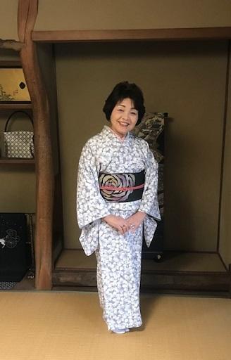 高屋三佐江さんとお仲間・結城に汕頭・作家さん着物と帯。_f0181251_18181686.jpg