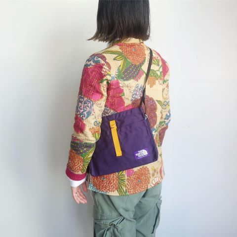 THE NORTH FACE PUPLE LABEL : Small Shoulder Bag_a0234452_15102815.jpg