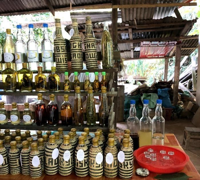 """ラオスの旅 15 ラオ酒を醸造する """"サンハイ村""""@メコンクルーズ_a0092659_16375988.jpg"""