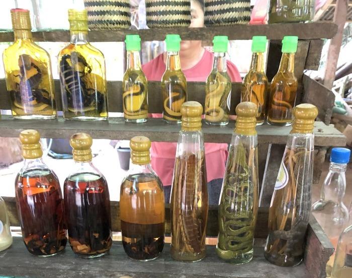 """ラオスの旅 15 ラオ酒を醸造する """"サンハイ村""""@メコンクルーズ_a0092659_16380697.jpg"""