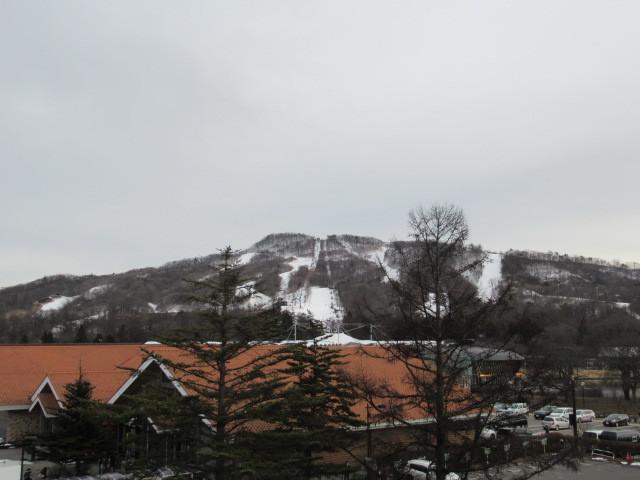 暖かい大寒の日 * 浅間山の冠雪と軽井沢駅からのプリンススキー場_f0236260_17330585.jpg