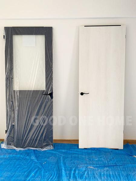 ブラックカラーのドア把手_e0251265_15492249.jpg