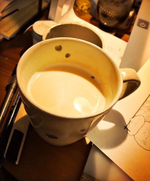 紅茶焼酎のホットミルク割り_a0342172_21124606.jpg