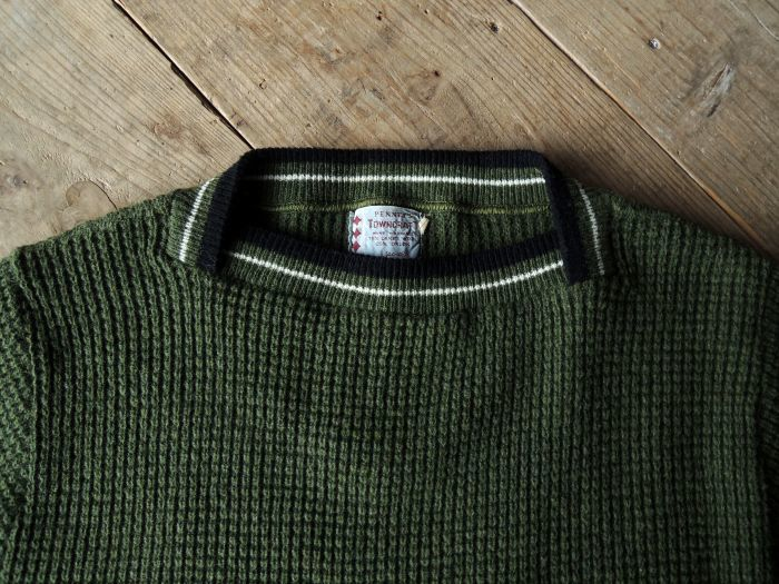 50S PENNEY\'S TOWN CRAFT WOOL KNIT SWEATER--RECOMMEND--_d0334976_14273937.jpg