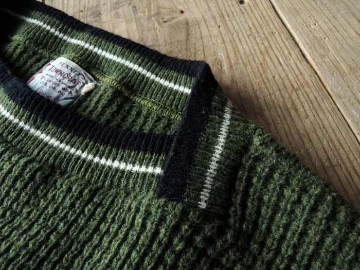 50S PENNEY\'S TOWN CRAFT WOOL KNIT SWEATER--RECOMMEND--_d0334976_14274087.jpg