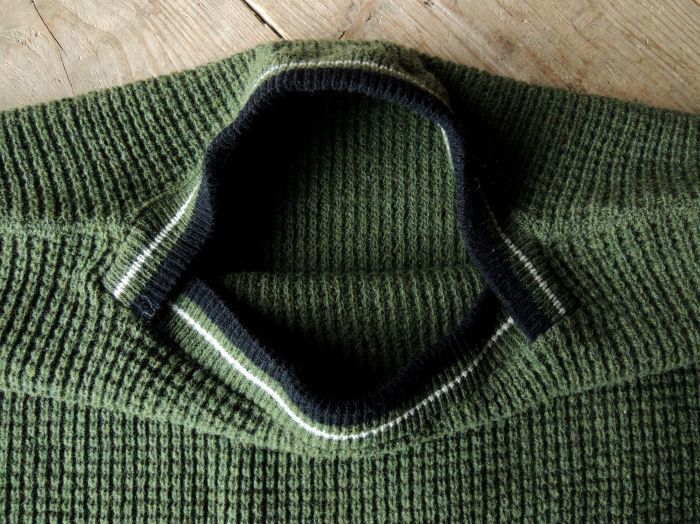 50S PENNEY\'S TOWN CRAFT WOOL KNIT SWEATER--RECOMMEND--_d0334976_14274220.jpg