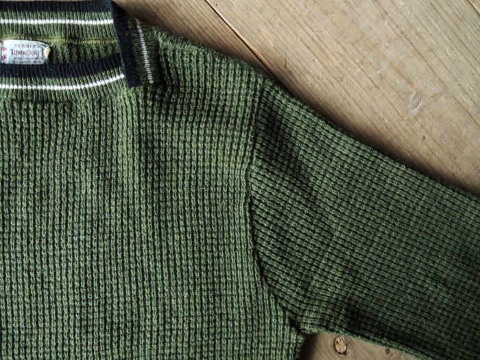50S PENNEY\'S TOWN CRAFT WOOL KNIT SWEATER--RECOMMEND--_d0334976_14301297.jpg