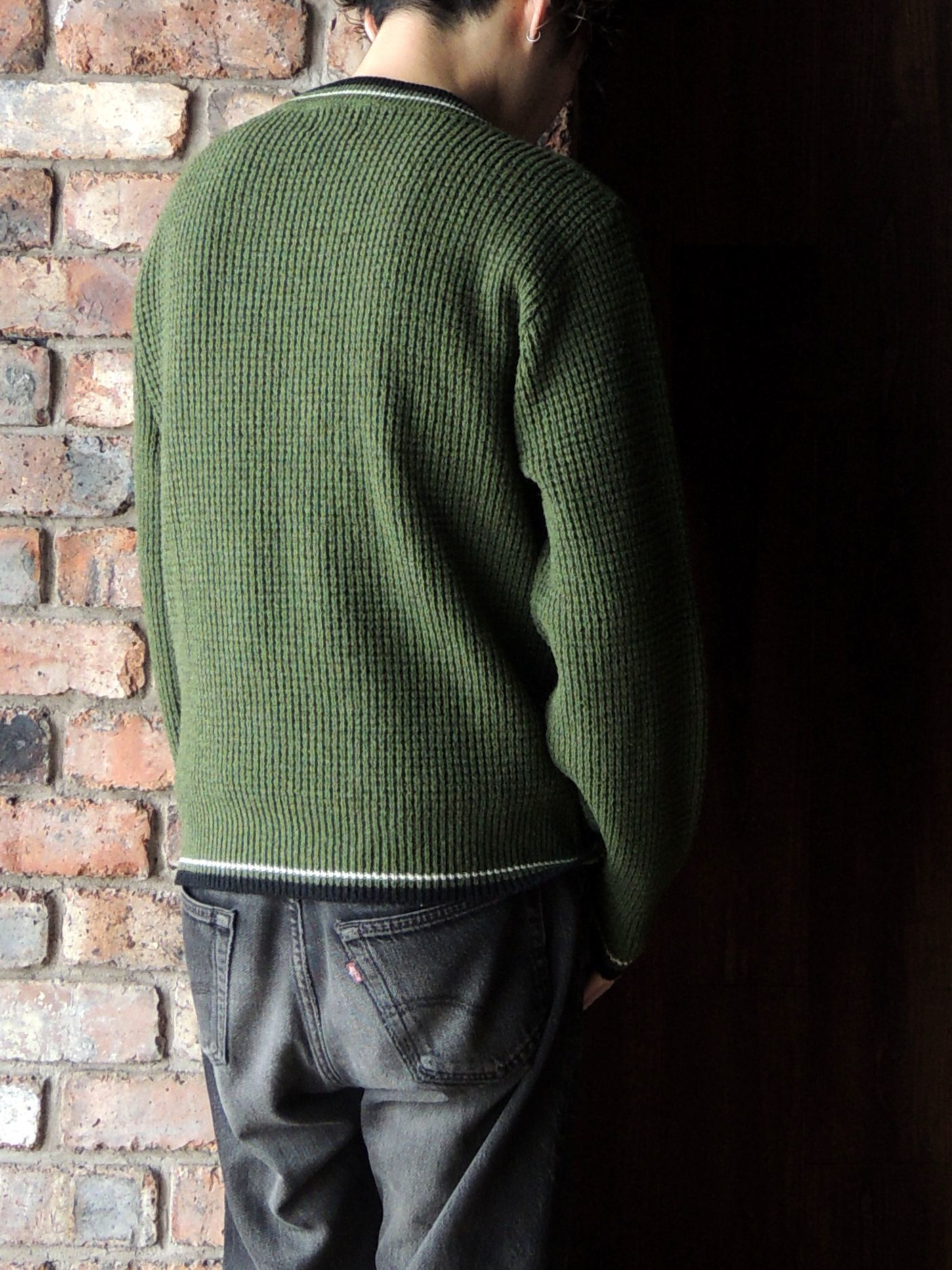 50S PENNEY\'S TOWN CRAFT WOOL KNIT SWEATER--RECOMMEND--_d0334976_14325533.jpg