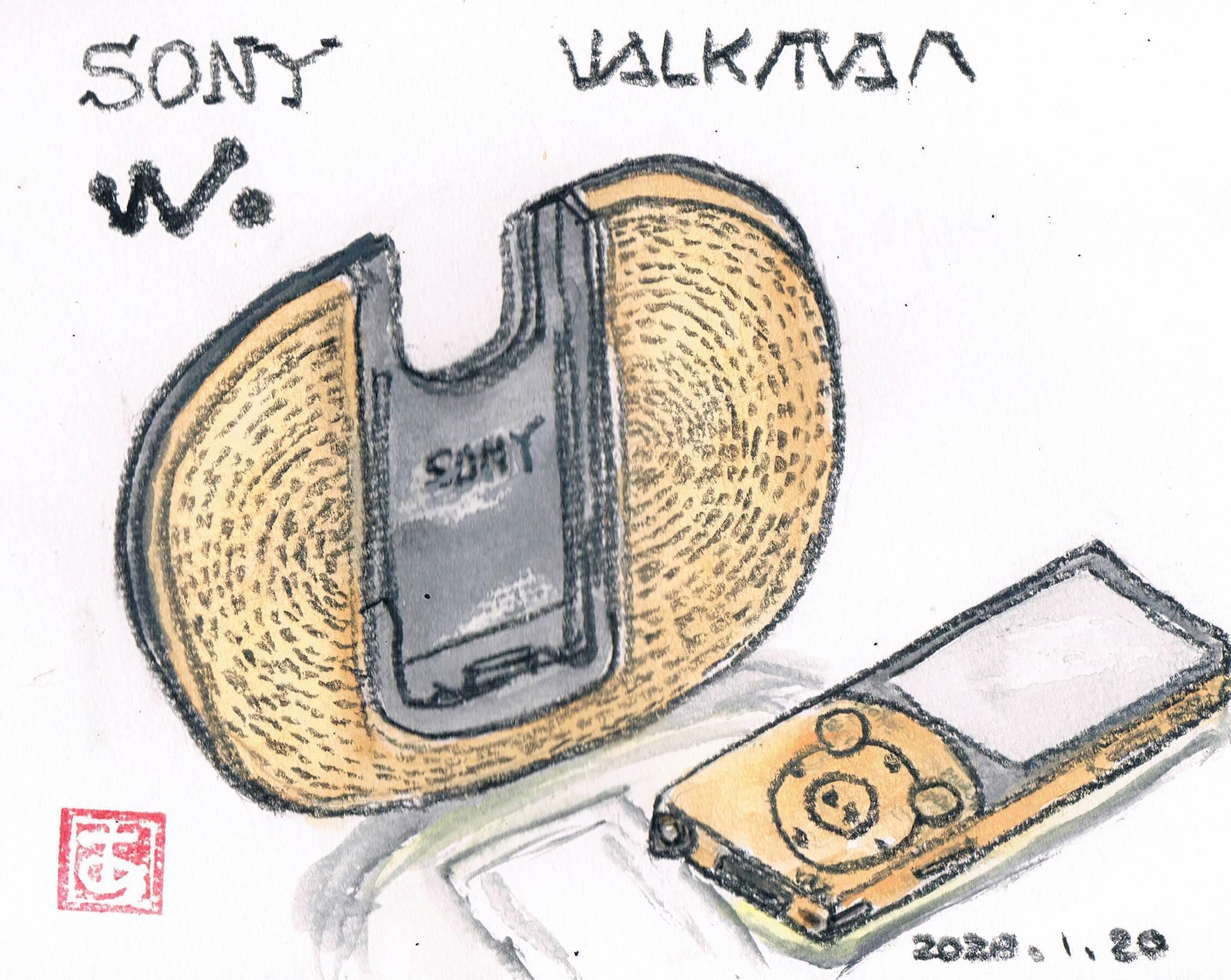 ソニーのウォークマン_e0232277_13313929.jpg