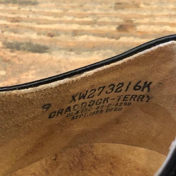 Dead Stock USN Service Shoes_c0146178_17323956.jpg