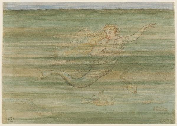 ウォルター・クレイン画の「人魚姫」_c0084183_19025152.jpg