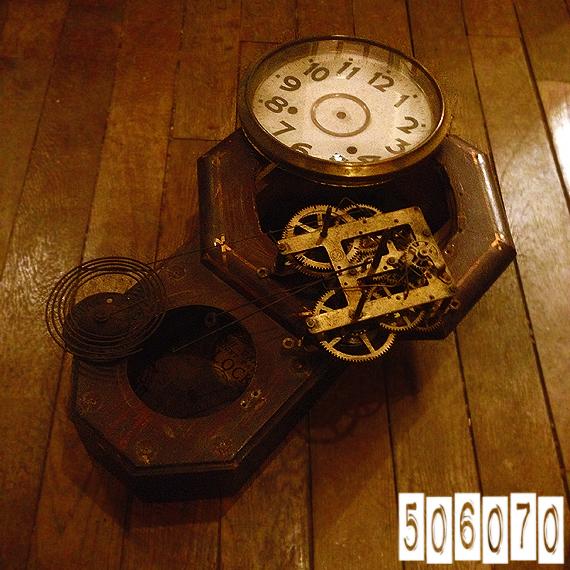 精工舎アンティーク時計 分解した部品 スチームパンク_e0243096_18553934.jpg