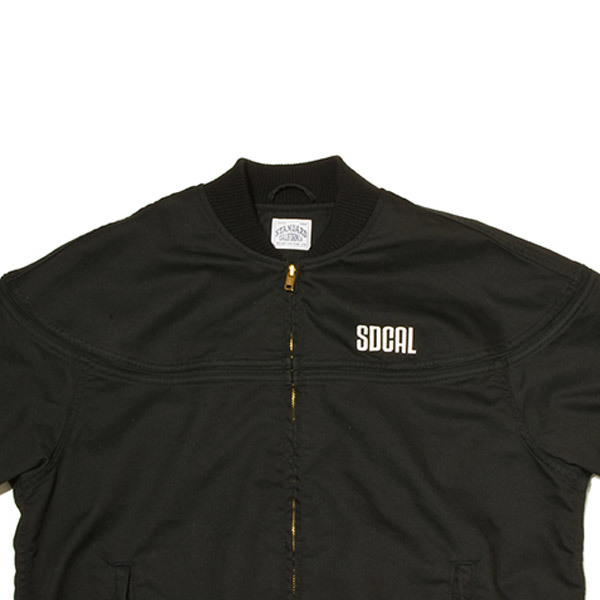 【DELIVERY】 STANDARD CALIFORNIA - Coolmax Stretch Twill Derby Jacket_a0076701_13220663.jpg