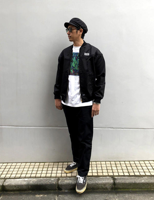 【DELIVERY】 STANDARD CALIFORNIA - Coolmax Stretch Twill Derby Jacket_a0076701_13225237.jpg