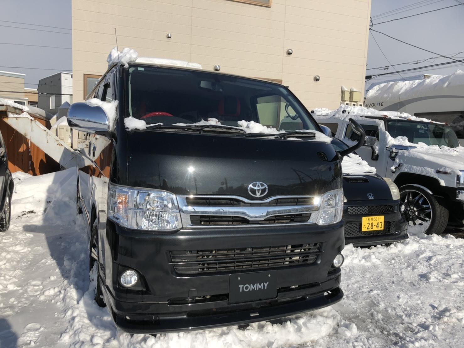 1月22日(水)本店ブログ♪ H28アルファード2.5S 4WD WALD22AW入庫致しました! ランクル ハマー エスカレード TOMMY_b0127002_18590145.jpg