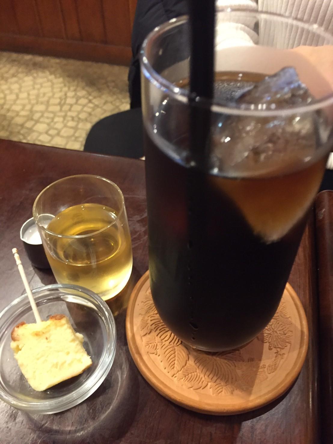 喫茶 1er ぷるみえ (たっぷりキャベツのお好み焼き仕立て)_e0115904_13594647.jpg