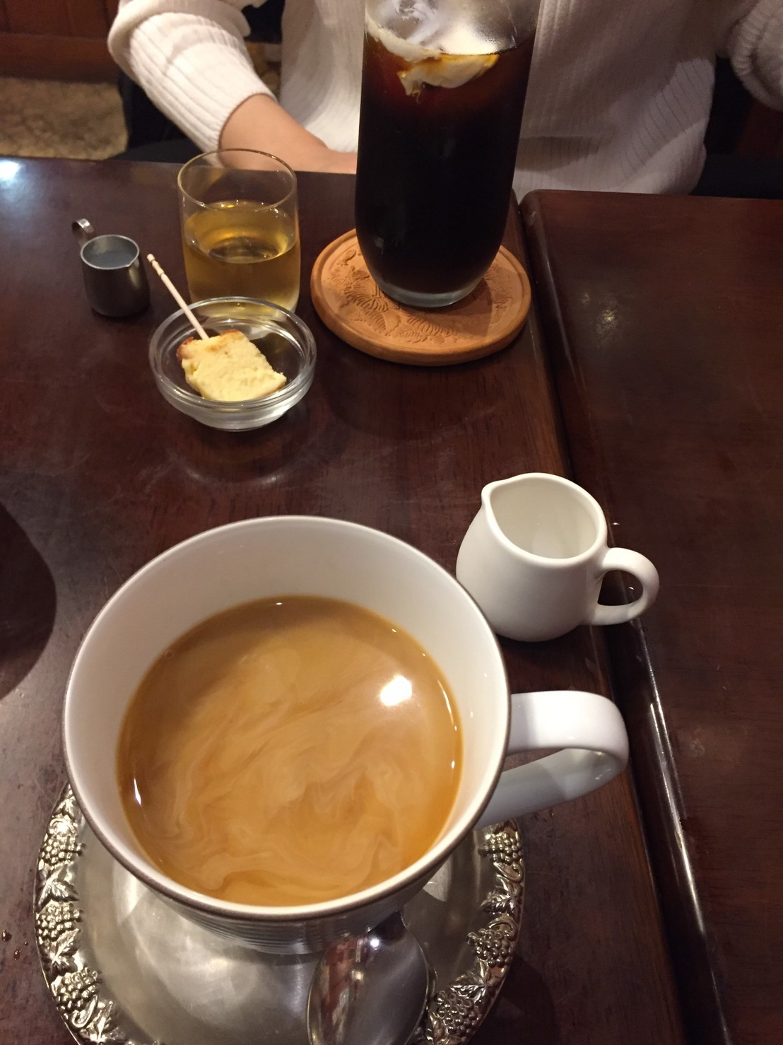 喫茶 1er ぷるみえ (たっぷりキャベツのお好み焼き仕立て)_e0115904_14024331.jpg