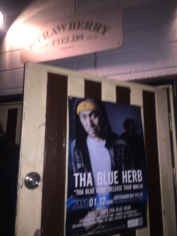 THA BLUE HERB RELESE TOUR 鳥取公演 (2020.01.12@STRAWBERRY FIELDS) レポ_e0115904_22392759.jpg