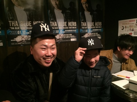 THA BLUE HERB RELESE TOUR 鳥取公演 (2020.01.12@STRAWBERRY FIELDS) レポ_e0115904_22404739.jpg