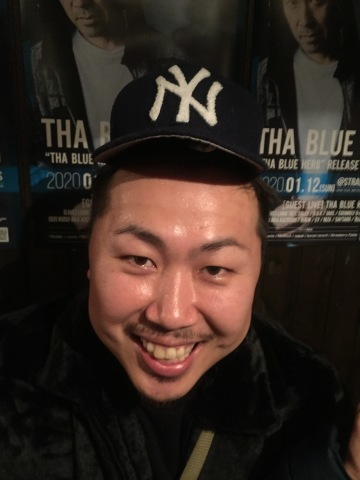 THA BLUE HERB RELESE TOUR 鳥取公演 (2020.01.12@STRAWBERRY FIELDS) レポ_e0115904_22405104.jpg