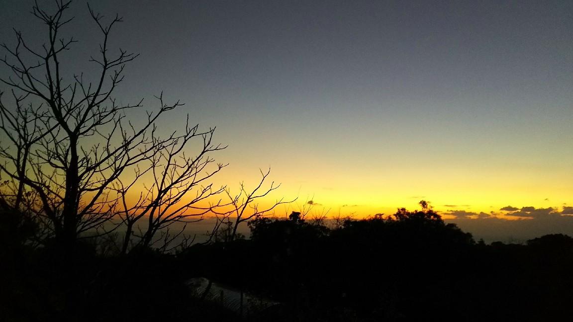 1月21日  日没後の空。_a0204408_19282667.jpg