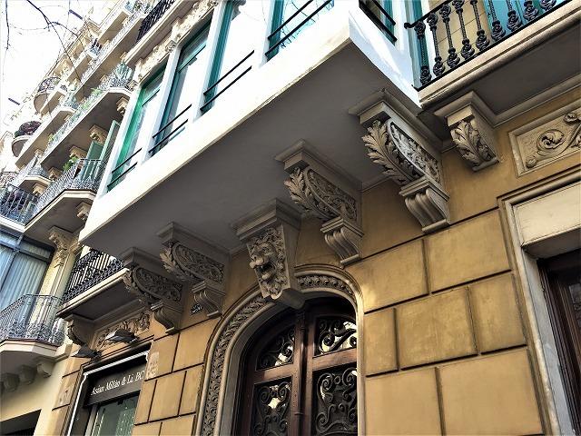 Eixample地区の散歩とレストラン La Tartareria_b0064411_19222304.jpg