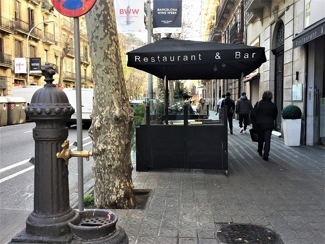 Eixample地区の散歩とレストラン La Tartareria_b0064411_19222313.jpg