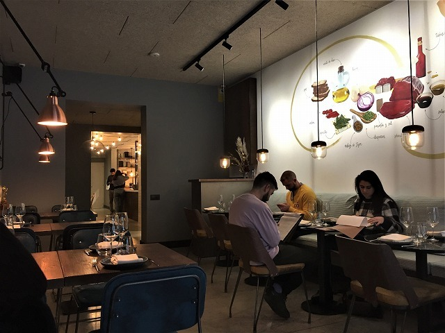 Eixample地区の散歩とレストラン La Tartareria_b0064411_19222396.jpg