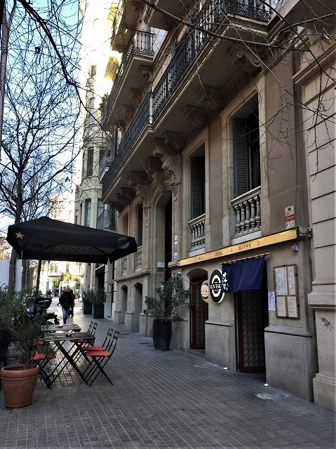 日本レストラン Sun TakaとEixample地区の散歩_b0064411_20015328.jpg