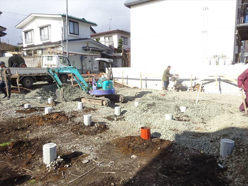 緑ヶ丘 アトリエのある家 進行中。_f0105112_05105336.jpg