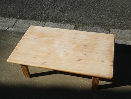 汚れて湾曲したテーブルの修理(2)_b0312424_16485004.jpg
