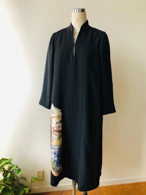 着物着物リメイク・ 留袖から留めそでドレス_d0127925_15170226.jpg