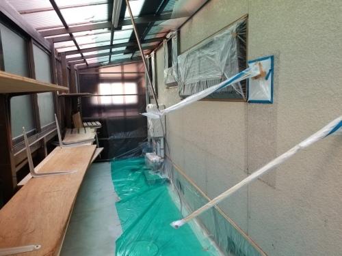 廿日市市 K様邸・外壁塗装工事_d0125228_03481899.jpg