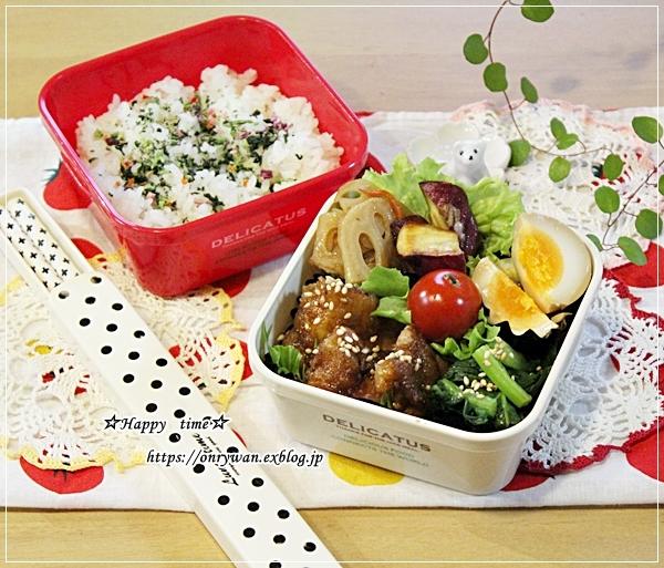 油淋鶏弁当とおnewの型♪_f0348032_17480574.jpg