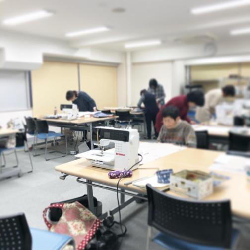 【ヴォーグ学園横浜校】素敵なマルシェバッグが3点完成しました♪_f0023333_21530135.jpg