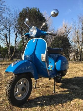 2011 Piaggio Vespa PX150 Euro3 地中海青。_f0123137_13371960.jpg