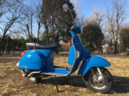 2011 Piaggio Vespa PX150 Euro3 地中海青。_f0123137_13423513.jpg