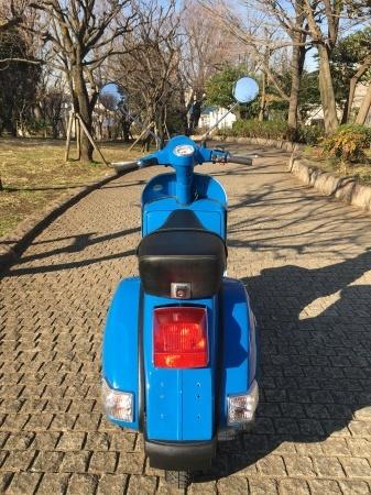 2011 Piaggio Vespa PX150 Euro3 地中海青。_f0123137_13515774.jpg