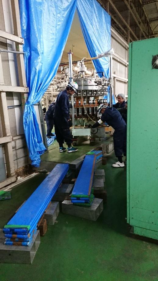 充填機械搬出工事移設..._d0174738_07115224.jpg