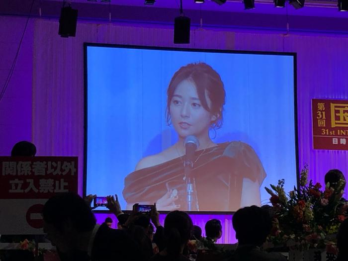 第31回日本ジュエリーベストドレッサー賞式典_f0070542_23152085.jpg