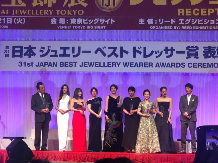 第31回日本ジュエリーベストドレッサー賞式典_f0070542_23160332.jpg