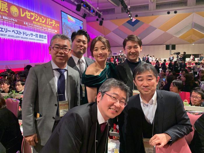 第31回日本ジュエリーベストドレッサー賞式典_f0070542_23181471.jpg