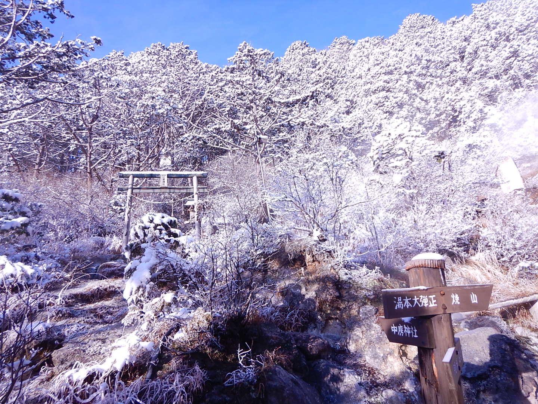 中房温泉の朝の気温は-7_f0219043_07543186.jpg