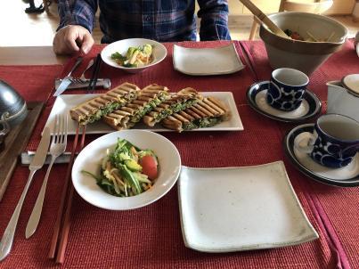 北軽井沢だと料理するのが気持ちいい_c0341450_13300224.jpg