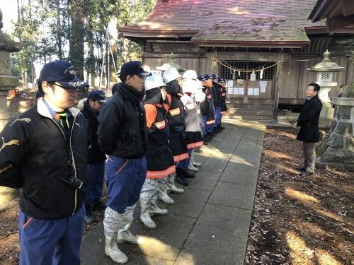 文化財防火訓練_d0101562_16072033.jpg