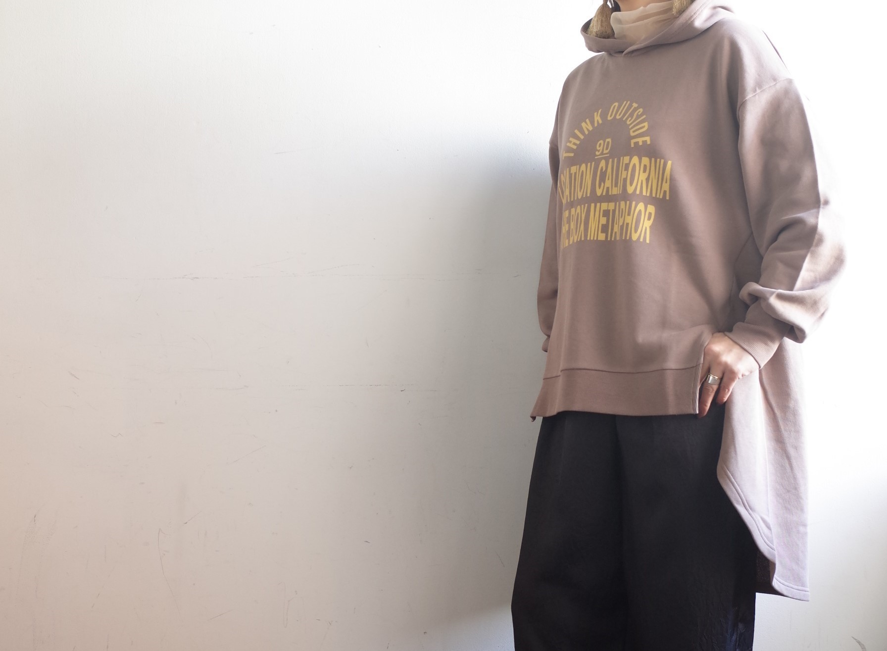 LEFUA LEA☆Printチュニックパーカー☆_e0269968_16295610.jpg